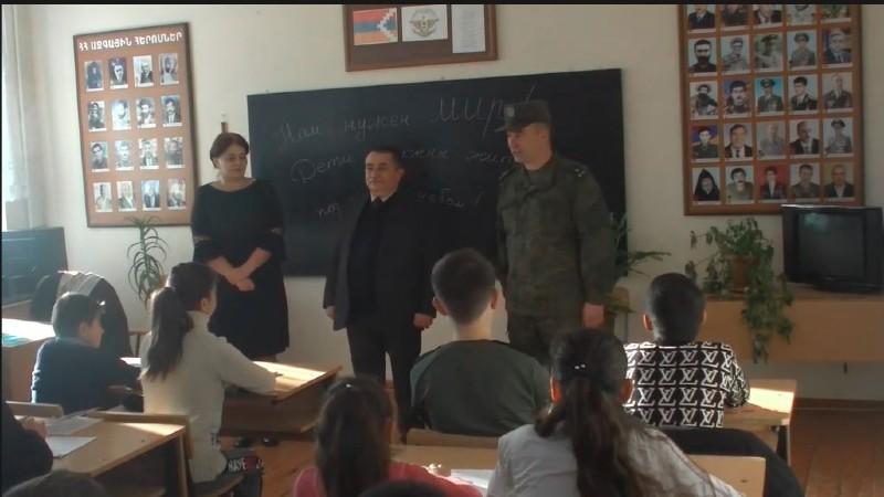 Ռուս խաղաղապահներն ապահովել են Ստեփանակերտի թիվ 8 դպրոցի ուսումնական գործընթացի վերսկսումը (տեսանյութ)