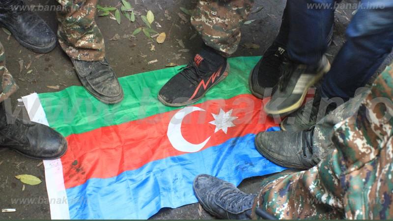 Հակառակորդի դրոշներ «ճակատագիրը» (լուսանկարներ). Banak.info