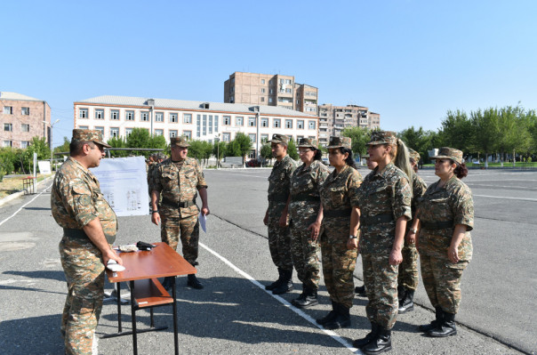 5-րդ զորամիավորումում անցկացվել են «Անվտանգության օր» թեմայով պարապմունքներ