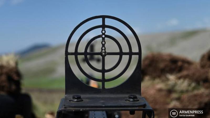Ադրբեջանական ԶՈւ-ն պարբերաբար կրակ է բացել հայկական դիրքերի ուղղությամբ. հայ դիրքապահները դիմել են հակազդող գործողությունների. ՀՀ ՊՆ