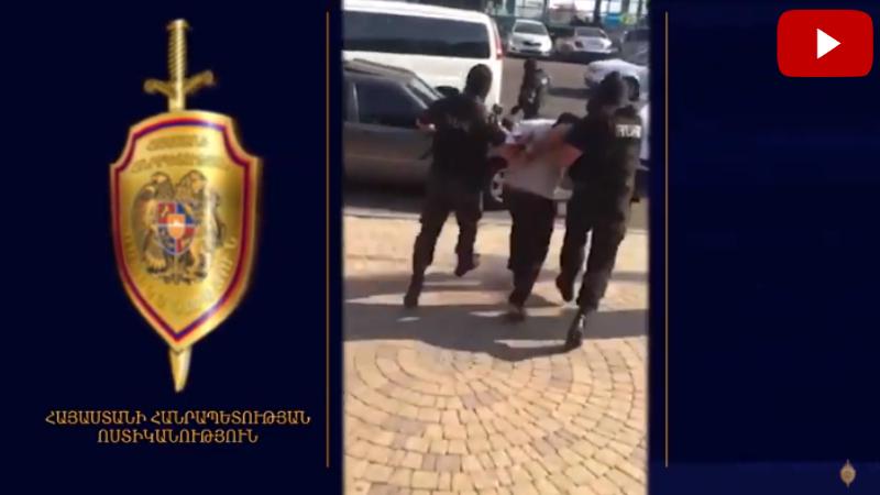 Այսպես կոչված՝ «օրենքով գող» Անդրանիկ Ս․-ն կալանավորվել է․ ոստիկանությունը տեսանյութ է հրապարակել