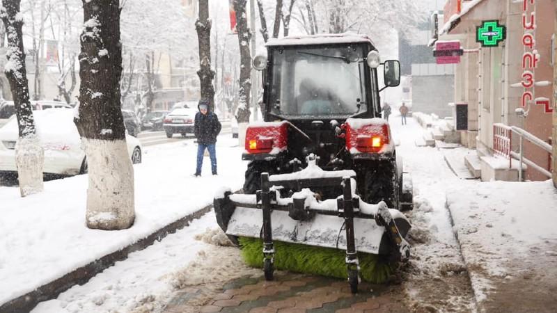 Ստեփանակերտում ձնամաքրման աշխատանքների հետ կապված որոշակի դժվարություններ կան. քաղաքապետարան