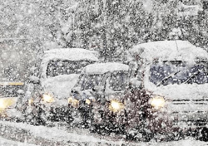 Մի շարք մարզերում ձյուն է տեղում
