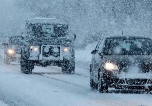 Արագածոտնի մարզի Ապարան քաղաքում տեղում է ձյուն. Վարորդներին խորհուրդ է տրվում երթևեկել բացառապես ձմեռային անվադողերով