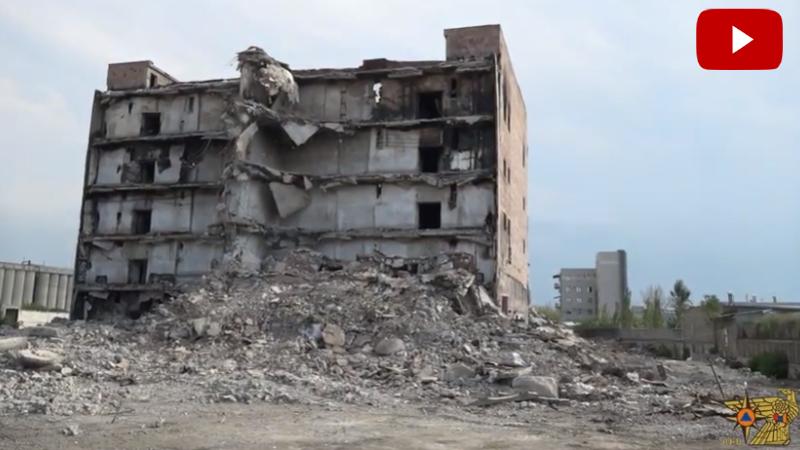 Ինչու չստացվեց «Ձյունիկ սառնարան» շենքի ամբողջական պայթեցումը․ ԱԻՆ-ի պարզաբանումը (տեսանյութ)