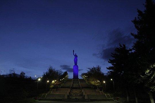 Գյումրին միացավ ՄԱԿ-ի «Turn the World in Blue» արշավին