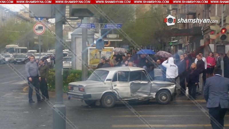 Խոշոր ավտովթար Երևանում