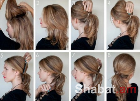 11 հիանալի գաղափար 5 րոպեում գեղեցիկ սանրվածք ստանալու համար (լուսանկարներ)