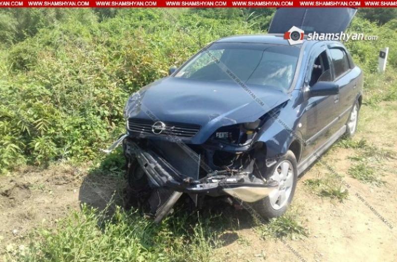 Տավուշի մարզում բախվել են Opel-ն ու Kia-ն. վիրավորները մարզի պաշտոնյաներ են. Shamshyan.com