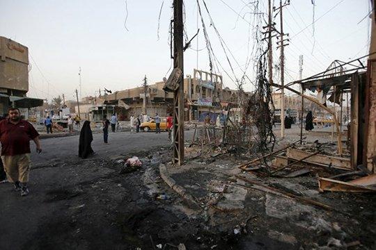Բաղդադում փախստականների ճամբարի վրա արձակվել է առնվազն 80 հրթիռ. կան զոհեր