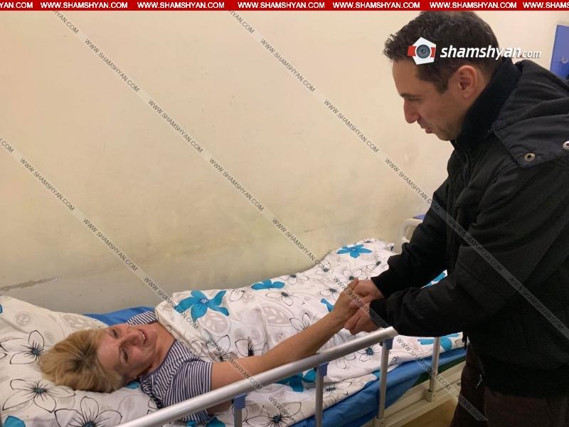 Հայկ Մարությանն այցելել  է բողոքի ակցիայի ժամանակ տուժած և հիվանդանոց տեղափոխված կնոջը