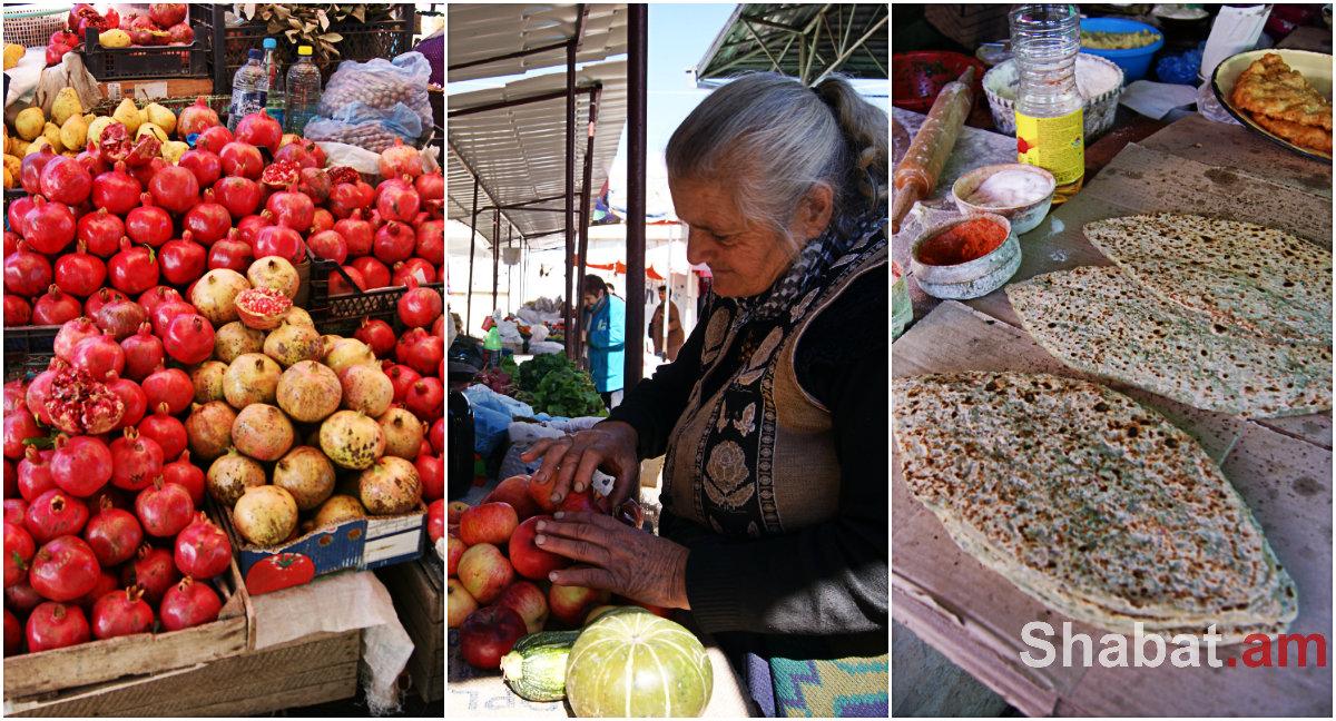 «Քե մատաղ, լյոխ լավա». Ստեփանակերտի շուկան` իր ողջ կոլորիտով ու գույներով (լուսանկարներ)