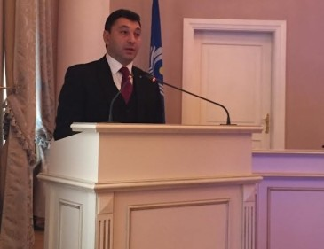 ՀՀ ԱԺ փոխնախագահ Էդուարդ Շարմազանովը ելույթ է ունեցել Սանկտ Պետերբուրգի Տավրիդյան պալատում
