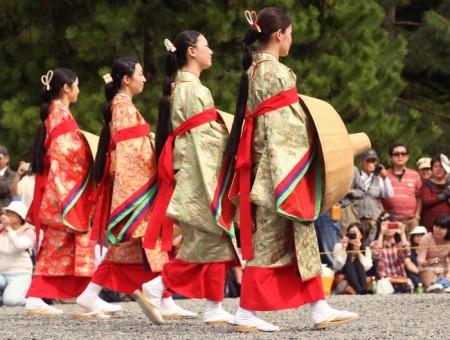 Ճապոնիայում տեղի է ունեցել պատմական հագուստների փառատոն (տեսանյութ)