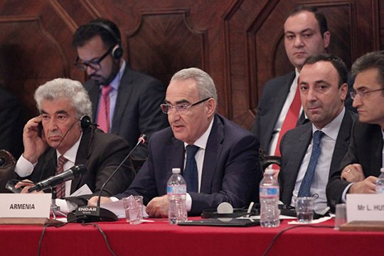 Գալուստ Սահակյանը Սահմանադրական փոփոխությունների վերաբերյալ ելույթ է ունեցել Վենետիկի հանձնաժողովի նիստում