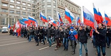 Մոսկվայում հակապատերազմական ցույց է ընթանում