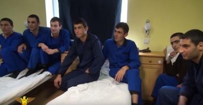 Հոսպիտալում բուժվող զինծառայողների երգը. նրանք սպասում են ապաքինմանը, որ կանգնեն ընկերների կողքին. (տեսանյութ)