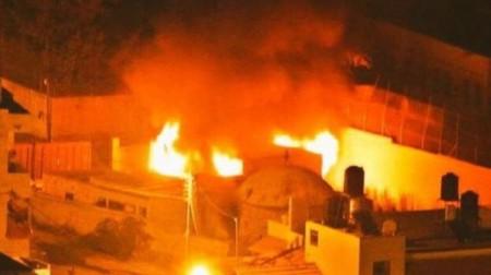 Պաղեստինցիները այրել են հուդայական սրբավայրը