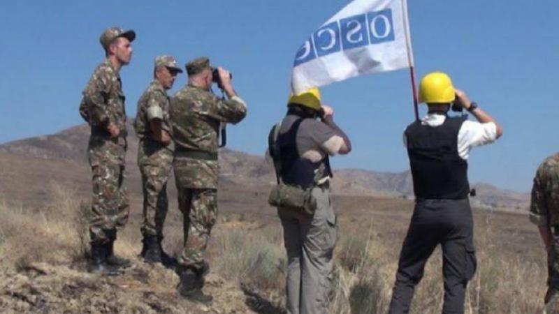 ԵԱՀԿ դիտարկումը՝ Արցախի և Ադրբեջանի զինված ուժերի շփման գծում