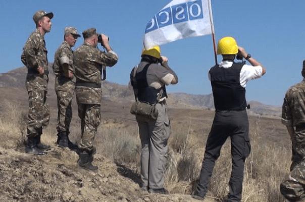Հայ-ադրբեջանական սահմանագոտում ԵԱՀԿ-ն դիտարկում է անցկացրել