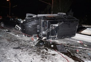 Խոշոր վթար Երևանում, վարորդներից մեկը մահացել է հիվանդանոցի ճանապարհին