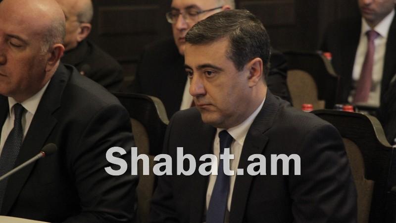 ԱԱԾ պետ Էդուարդ Մարտիրոսյանը  հրաժարականի դիմում է ներկայացրել․ Լրատվամիջոցներ