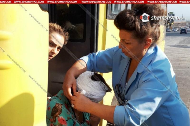 39 համարի ավտոբուսում ուղևորուհին վայր է ընկել ու դեմքի շրջանում վնասվածք ստացել. Shamshyan.com