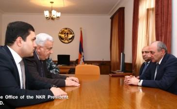 Բակո Սահակյանն ընդունել է Հայաստանի ազգային պոլիտեխնիկական համալսարանի ռեկտորին