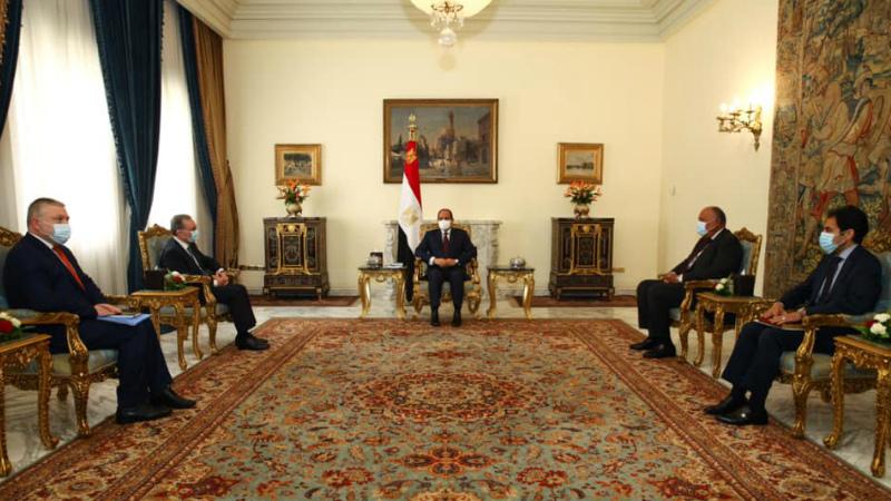 Եգիպտոսի նախագահ Աբդել Ֆաթթահ Ալ-Սիսին ընդունել է Զոհրաբ Մնացականյանին. խոսնակ