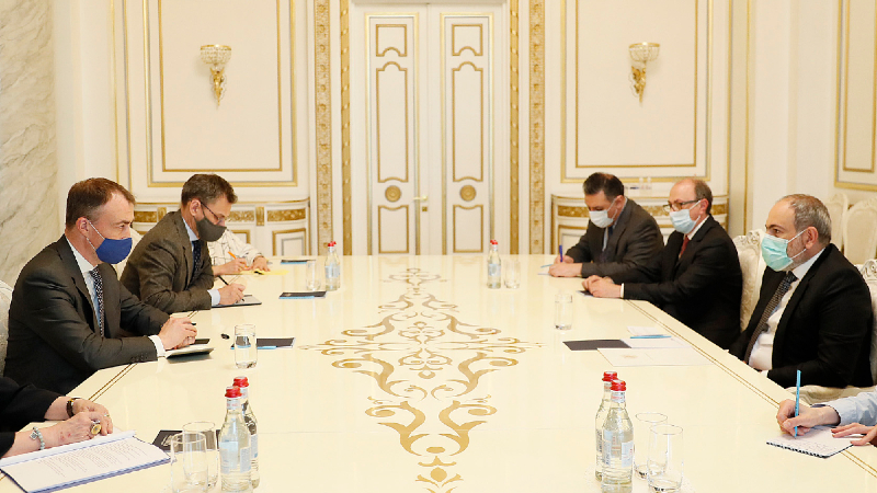 Անհրաժեշտ է միջազգային հանրության համարժեք արձագանքը Ադրբեջանի մարդատյաց քաղաքականությանը. Վարչապետն ընդունել է ԵՄ հատուկ ներկայացուցչին