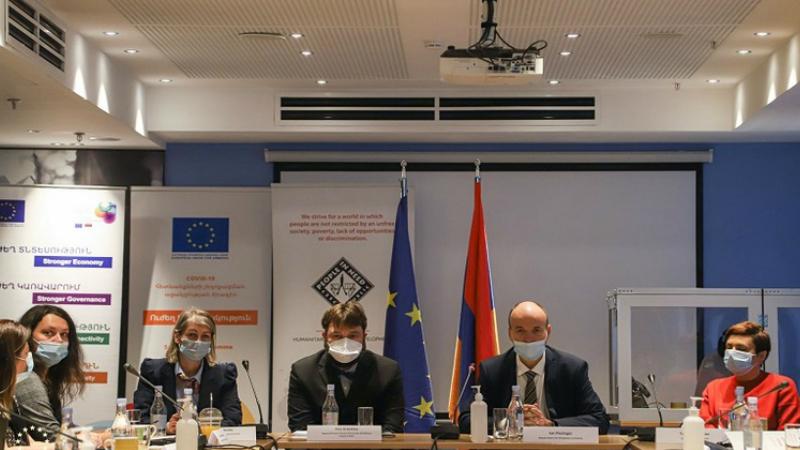ԵՄ-ն կորոնավիրուսի դեմ պայքարի նպատակով Հայաստանին տրամադրել է 92 մլն եվրո