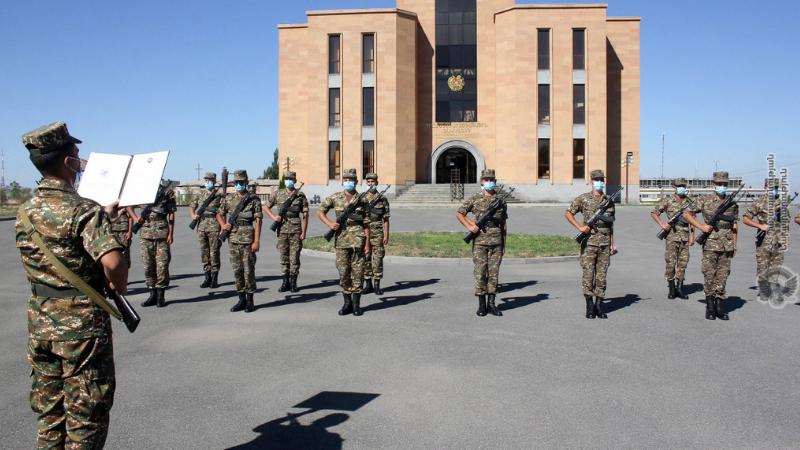 Նորակոչիկների երդման արարողությանը մասնակցելու համար սահմանվել է հատուկ կարգ