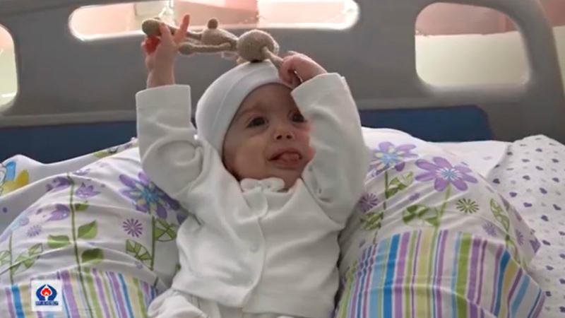 9 ամսական Գոռը, ով ծնված օրվանից պայքարում է ծանր հիվանդության դեմ, այսօր առաջին անգամ տուն է գնում