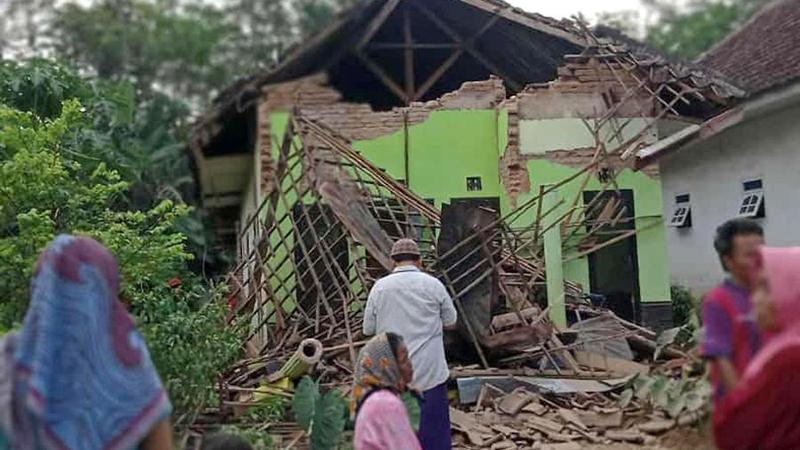 Ինդոնեզիայում գրանցվել է 6.0 մագնիտուդ ուժգնությամբ երկրաշարժ. կան զոհեր