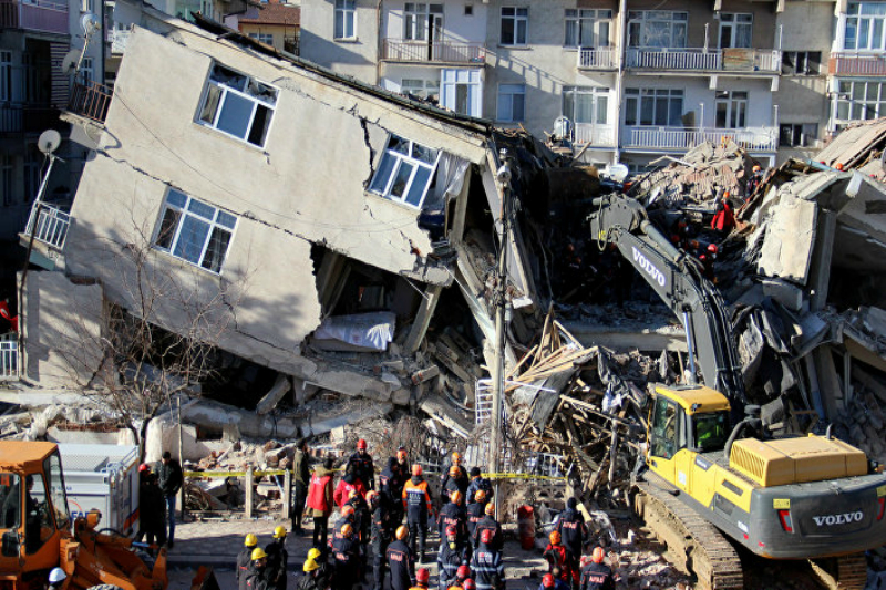 Թուրքիայում տեղի ունեցած աղետալի երկրաշարժի հետևանքով զոհվածների թիվը հասել է 40-ի