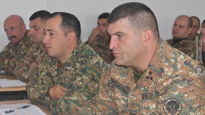 ՊՆ N զորամիավորման զորամասերի հրամկազմի հետ անցկացվել են եռօրյա հավաքներ
