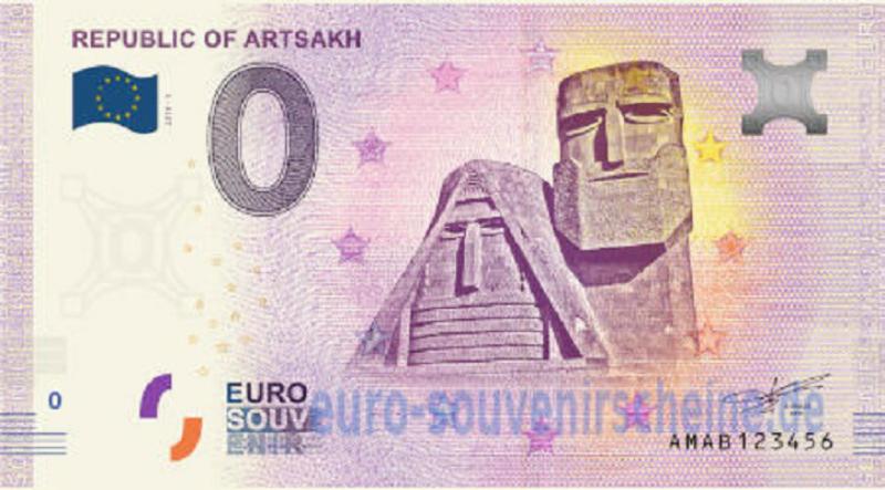 Ադրբեջանը խափանել է Արցախի սիմվոլիկայով «0 եվրո»-ների տպումը