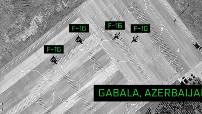 Ադրբեջանի Գաբալա ավիաբազայում նույնականացվել են թուրքական F-16 բազմաֆունկցիոնալ ինքնաթիռներ