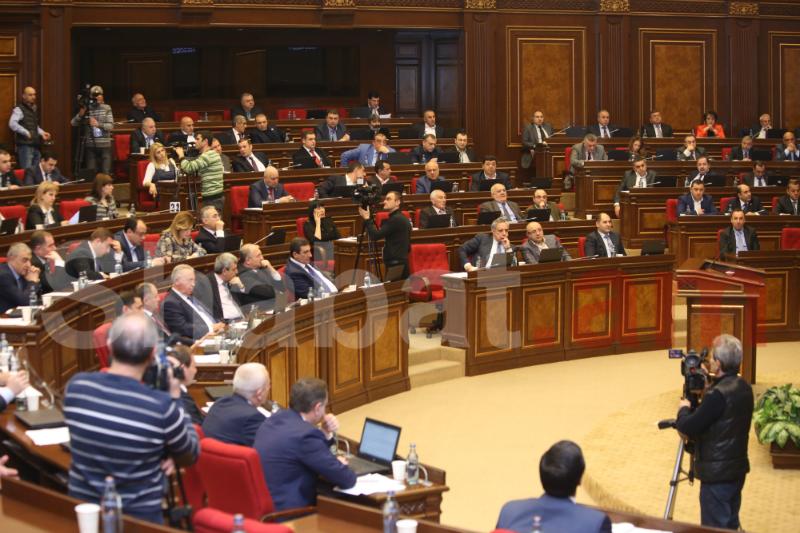 Յոթերորդ գումարման ԱԺ  առաջին նիստը տեղի կունենա դեկտեմբերի 31-ին