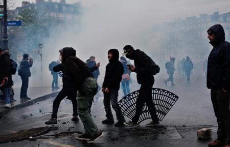 Անկարգություններ Ֆրանսիայում հակակառավարական ցույցերի ընթացքում (լուսանկարներ)
