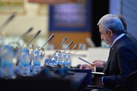 ԵՄ-ի հետ հարաբերություններում հասել ենք պատասխանատու հանգրվանին. Սերժ Սարգսյան