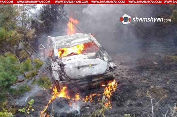 Սյունիքում այրված Nissan-ի ետևի նստարանին հայտնաբերվել է մոխրացած դի