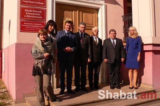 Լեհաստանում ՀՀ դեսպանն ու Սկիրենևիցեի քաղաքապետը քննարկել են համագործակցության ուղիները