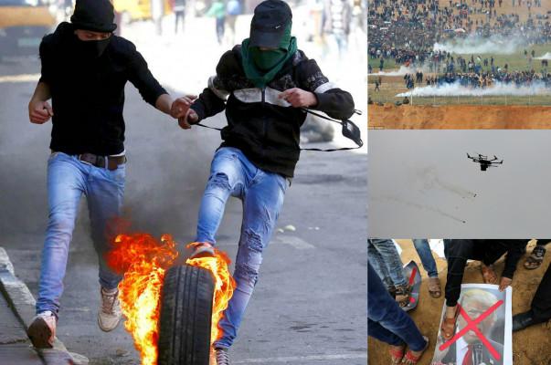17 զոհ, 1400 վիրավոր ու արցունքաբեր գազ տարածող իսրայելական անօդաչուներ. իսրայելապաղեստինյան խոշոր բախումը՝ ֆոտոշարքով