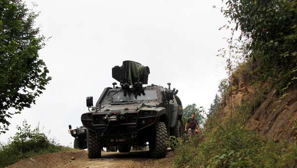 Թուրքական անվտանգության ուժերը սևծովյան 3 նահանգներում PKK-ի դեմ գործողություններ են սկսել