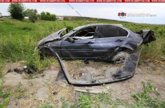 Արարատի մարզում տեղի ունեցած ավտովթարի հետևանքով հայրն ու դուստրը տեղափոխվել են հիվանդանոց