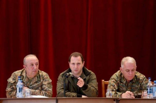 Ամփոփվել են Արցախում անցկացված օպերատիվ-մարտավարական զորավարժությունների արդյունքները