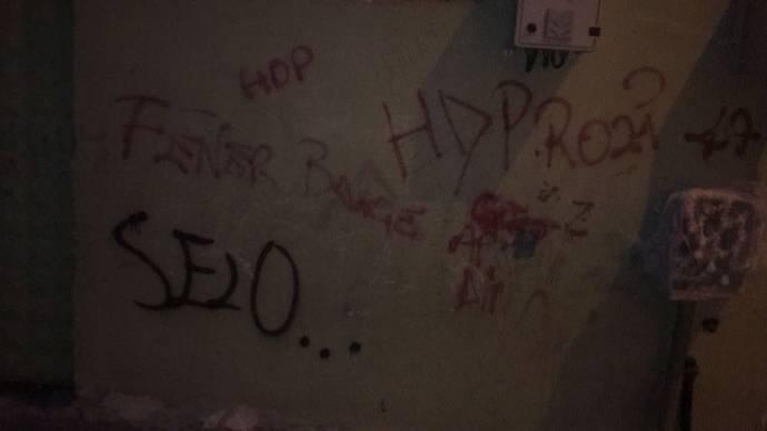 Թուրքիայում 13-ամյա երեխա է ձերբակալվել տան պատին քրդամետ կուսակցության անվանումը գրելու համար