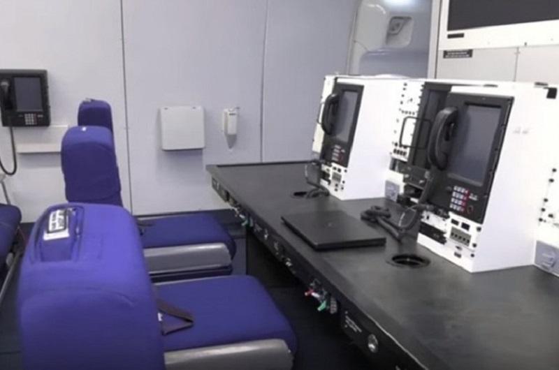 Գաղտնազերծվել է ԱՄՆ նախագահի «Դատաստանի օրվա» ինքնաթիռի սրահը