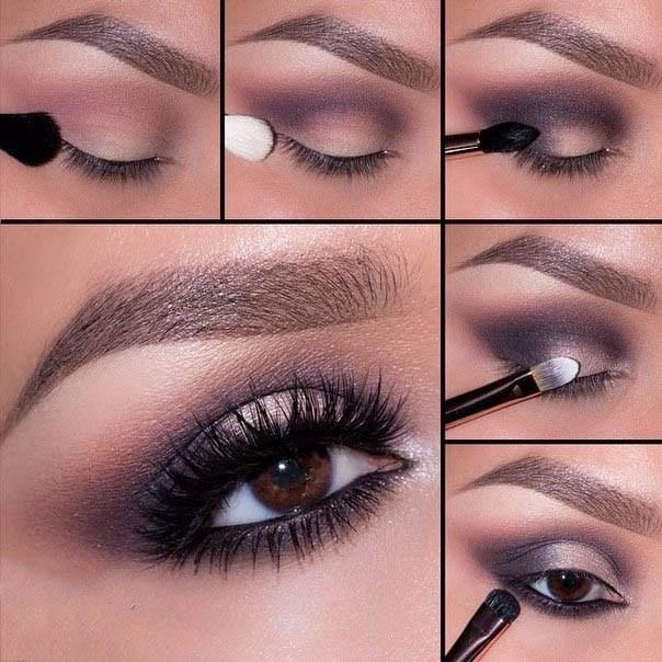 Դիմահարդարում՝ շականակագույն աչքեր ունեցող աղջիկների համար (լուսանկարներ)